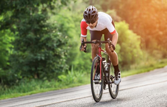Đạp xe giúp cân bằng tâm trạng