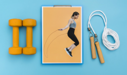 Cách nhảy dây đúng cách giúp giảm cân