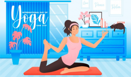 Giảm cân nhanh chóng nhờ kết hợp yoga và eat clean
