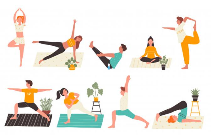 Yoga giúp phục hồi chức năng tiêu hóa