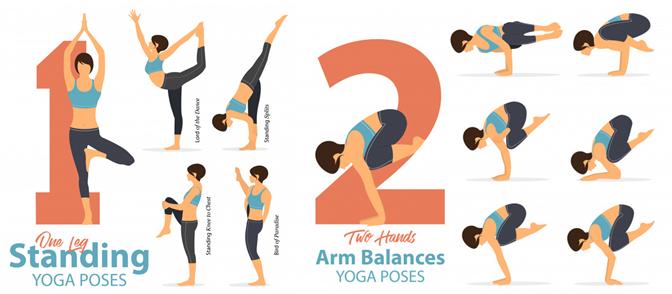 Một số động tác yoga giúp xương chắc khỏe