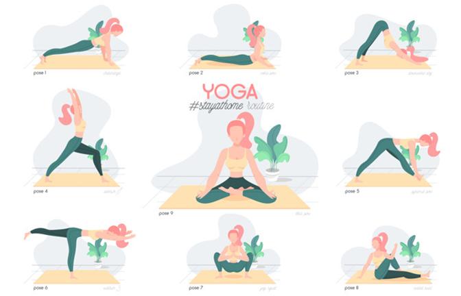 Các tư thế yoga giúp xương chắc khỏe