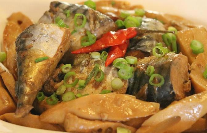 Nấu ăn tại gia món cá kho măng