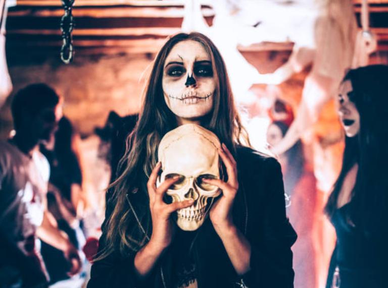 halloween makeup ấn tượng